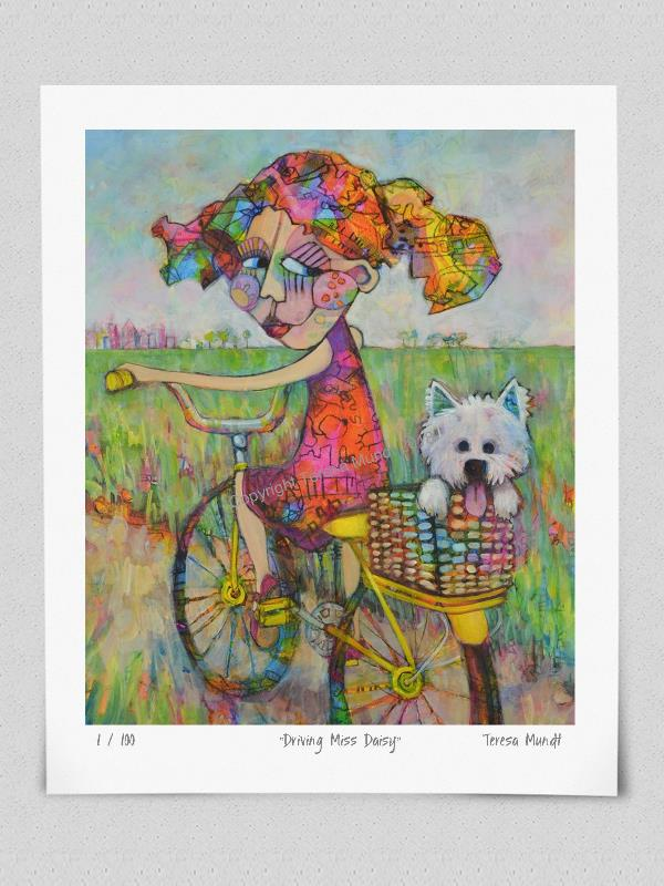 Quot Driving Miss Daisy Quot Limited Edition Print