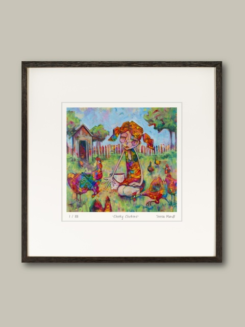 Quot Cheeky Chickens Quot Limited Edition Print