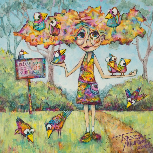 Quot Bird Hair Day Quot Limited Edition Print